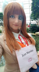Doki Doki Literature Club - Monika Cosplay by snizabelle