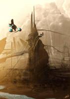 Fantasy Station by tommasorenieri