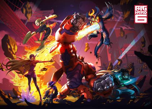 Big Hero 6 tribute by tommasorenieri