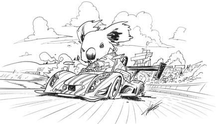 I'm speed! by tommasorenieri