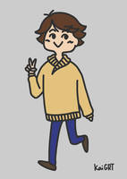 Oversized Sweaters Series: Oikawa by KaiGRT