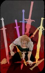 Tarot: 10 of Swords by Cameridan-Hero
