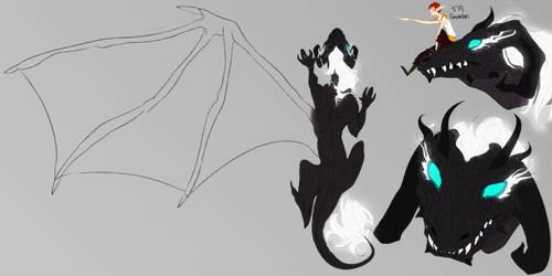 Amralime: Dragon Design by Cameridan-Hero