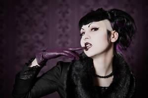 Purple Moments III by Nightshadow-PhotoArt