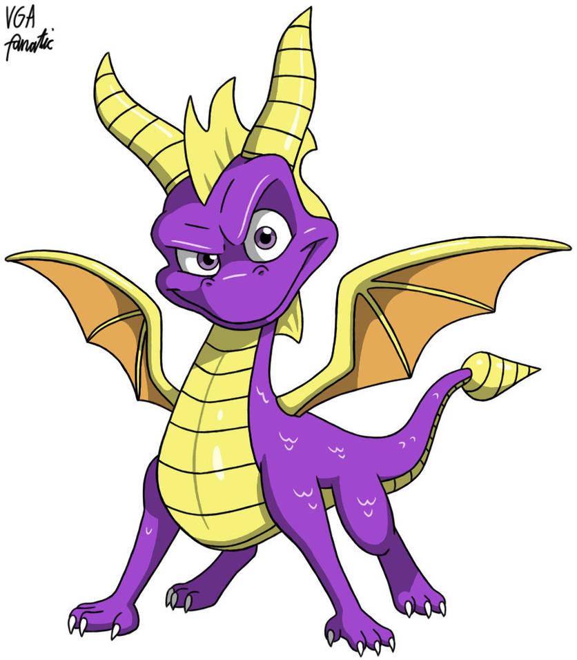 Spyro the Dragon by VGAfanatic