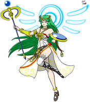 Palutena by VGAfanatic