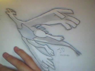 ---Lugia--- by pokemonmaster1992