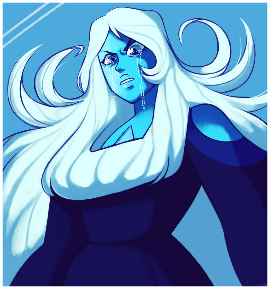 Another blue diamond drawing for y'all