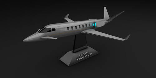 Concept Future Learjet by Dani-Sang