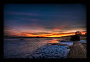Enchanting Sunset - HDR by SorenWrang