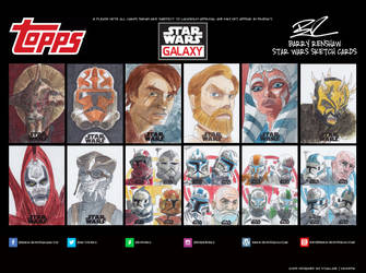 Star Wars Galaxy - Clone Wars Era by REDBAZ