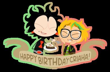 [B-day Gift] Eppy Birthday Cri! by ArtisticAsianBunny