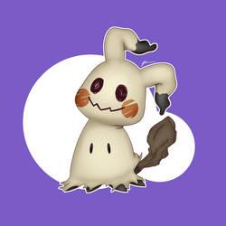 Pokemon - Mimikyu by Bruhowori