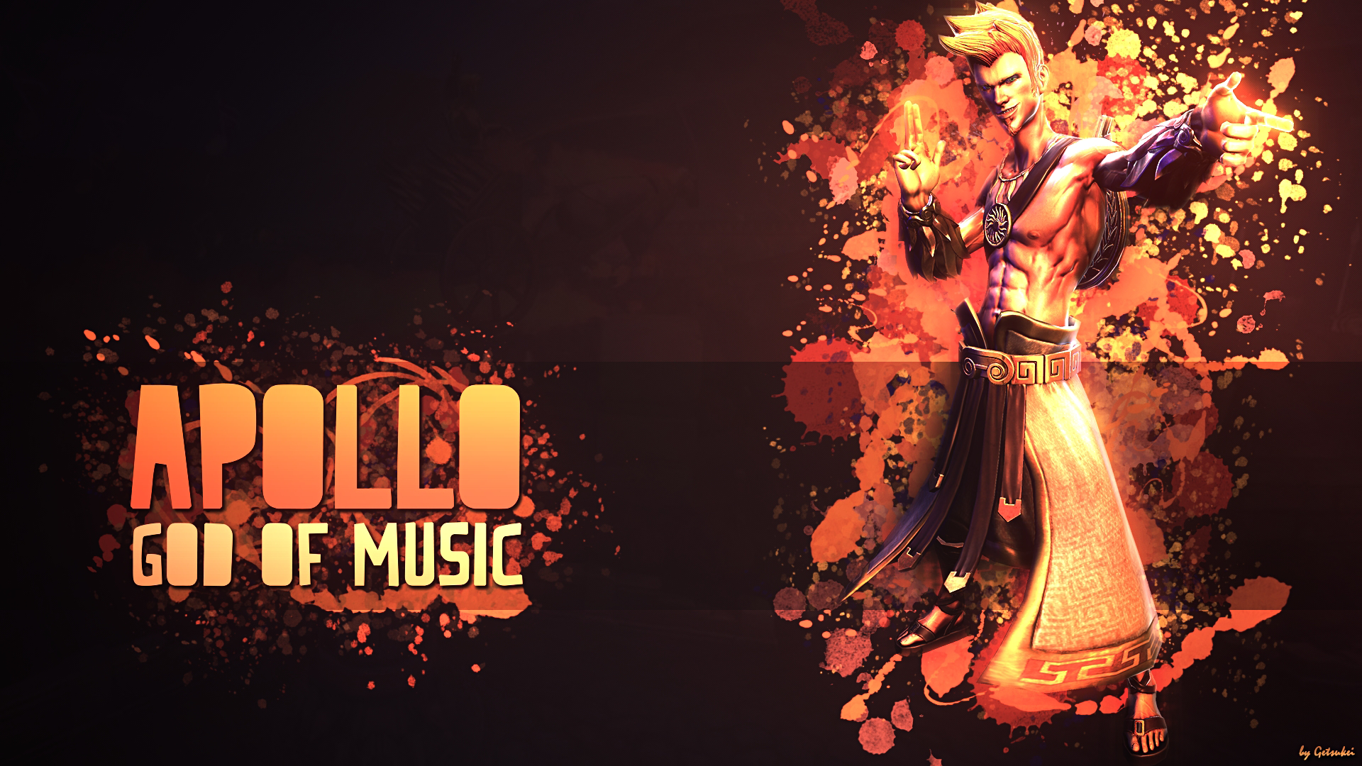 Apollo God Of Music Wallpaper Hd By Getsukeii On Deviantart