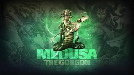 SMITE - Medusa, The Gorgon (Wallpaper) by Getsukeii