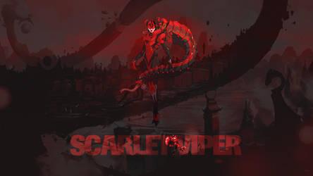 Duelyst - Scarlet Viper (Wallpaper) by Getsukeii