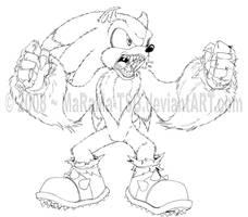 Sonic the Wolfhog by MaRaMa-Artz