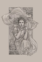 Mucha tribute 2 by DianaVanDamme