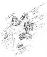 Deadly Magical Girl-concept by DPRagan