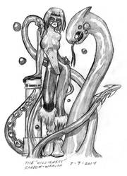 Shadow-Wraith In Costume by DPRagan
