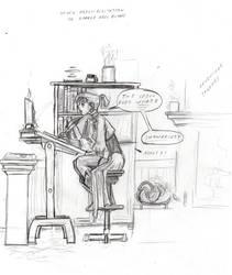 Human Kiona Scribing by DPRagan