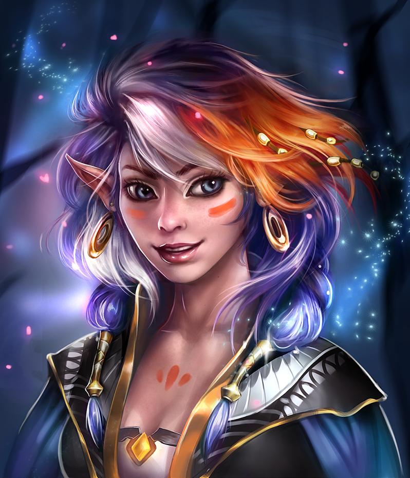 Portrait by Sola-li