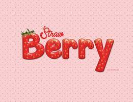 Strawberry by Textuts