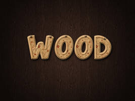 Decorated Wood by Textuts