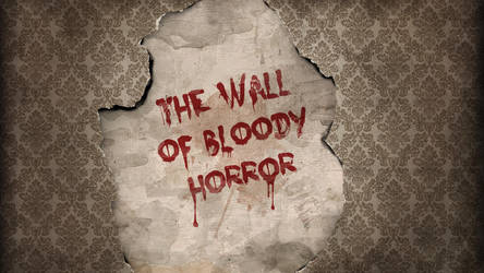 Bloody Vintage Wallpaper Design by Textuts