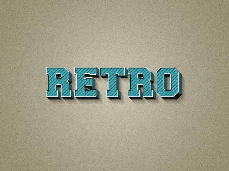 Retro by Textuts