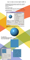 How to make a texture ball in GIMP by Viktoria-Lyn