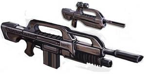 HALO 3 Gun Concept by Deathelmm