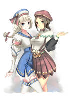 Monster Hunter 3 Ultimate Guild Receptionists! by ltkworks