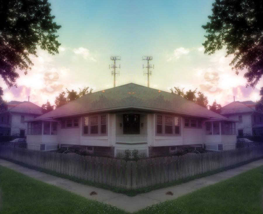House sunrise by IvoryDrive