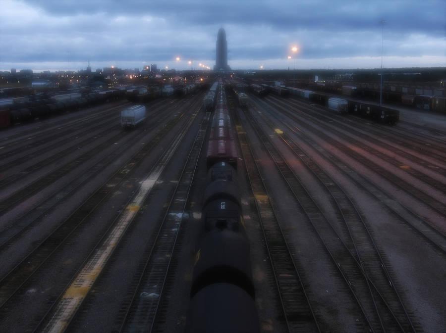 Trainyard dark by IvoryDrive