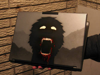 Undead Laptop by IvoryDrive