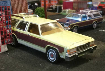 Greenlight 1985 Ford LTD Country Squire 5 by humloch