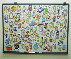 Mario magnets by jjmccullough