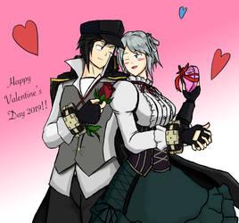 God Eater's Valentine's day by Jindopon