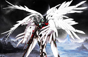 XWXX-00-WZ Agellus Gundam [Ver. JET] by Chaos217