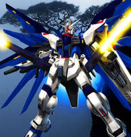 XGMF-x10a Freedom Gundam [Ver. JET Final Render] by Chaos217