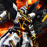 ZGMF-x1200-Z Bakushuujin [Ver. JET] by Chaos217