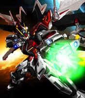 GAT-X105E Strike Irvine Gundam [Ver. JET] by Chaos217