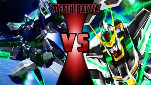 Gundam Death Battle Wallpaper-5 by Chaos217