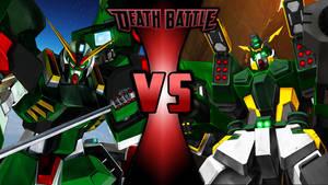 Gundam Death Battle Wallpaper-4 by Chaos217