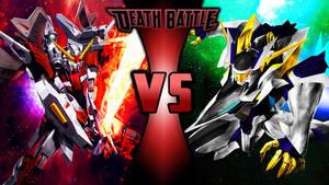 Gundam Death Battle Wallpaper-3 by Chaos217