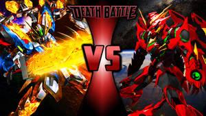 Gundam Death Battle Wallpaper-2 by Chaos217
