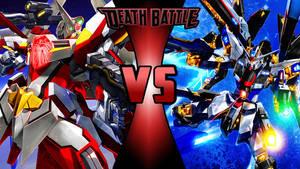 Gundam Death Battle Wallpaper-1 by Chaos217