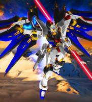 Gundam DxD Strike Freedom [Ver. JeT] by Chaos217