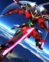 ZGMF-X09-A Eternal Justice Gundam [Ver. JeT] by Chaos217